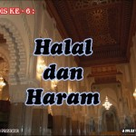Hadis 6 : Halal dan Haram
