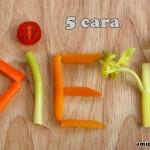 5 Cara Diet Yang Betul