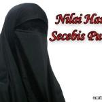 Nilai Harga Secebis Niqob (Purdah)