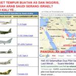 Arab Saudi Serang Israel dgn Pesawat F15 Buatan AS?
