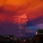 Gunung Berapi Meletus di Selatan Chile 2015