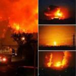 Israel Dilanda Kebakaran Besar, Tiupan Angin Marakkan Api Sehingga Tidak Dapat Dikawal